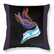 Breakthrough Peace For Israel Throw Pillow