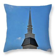 Peace - God - Mankind - Nature Throw Pillow