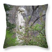 Peace In Eternal Prayer Throw Pillow