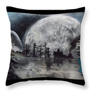 Peace In The Dark Throw Pillow