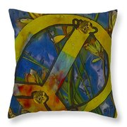 Peace In The Nature Throw Pillow