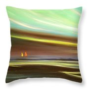 Peace Is Colorful Throw Pillow