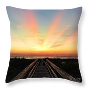 Peace  Throw Pillow by LeeAnn Kendall