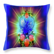 Peace Light And Love Throw Pillow