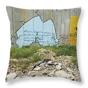 Peace Messages Throw Pillow