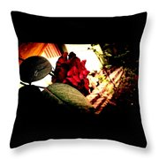 Peace Of Death Throw Pillow