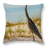 Peace On The Beach Throw Pillow