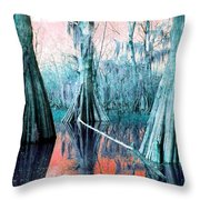 Peace On Water Throw Pillow