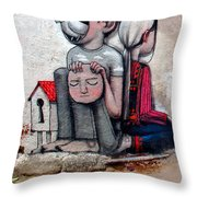 Malland Peace With Justice Throw Pillow