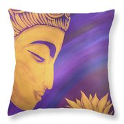 Peace Within Peace Without Throw Pillow