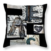 Peace Written In The Trees 3 Throw Pillow