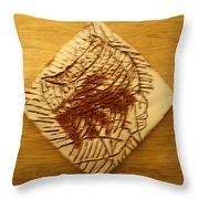 Peaceful - Tile Throw Pillow