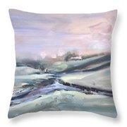 Peaceful Brook Throw Pillow