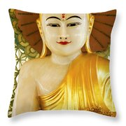 Peaceful Buddha Throw Pillow