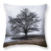 Peaceful Country Setting Throw Pillow