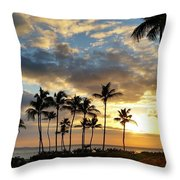 Peaceful Dreams Hawaii Throw Pillow