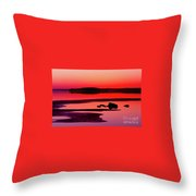 Peaceful Evening Throw Pillow