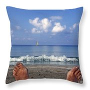 Peaceful Existence Throw Pillow