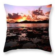 Peaceful Getaway  Throw Pillow