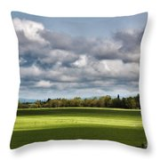 Peaceful Morning - Hdr Throw Pillow