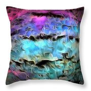 Peaceful Planet Throw Pillow