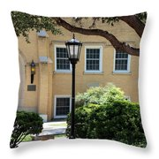 Peaceful Seating Area In New Mexico Throw Pillow