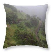 Peaceful Trail Throw Pillow