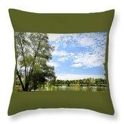 Peaceful View - Bradfield Park 18-37 Throw Pillow