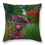 Peaceful World Throw Pillow