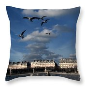 Peacefull Throw Pillow by Milan Mirkovic