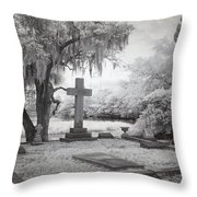 Peacful Eternity Throw Pillow