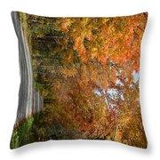 Peacham Side Road Throw Pillow