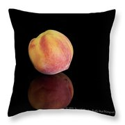 Peachy Throw Pillow