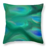 Peacock No.1 Throw Pillow
