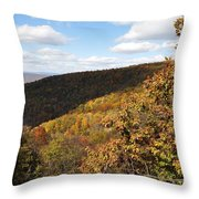 Peak Foliage Throw Pillow