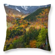 Peaked Throw Pillow