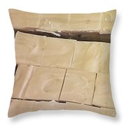 Peanut Butter Fudge Throw Pillow