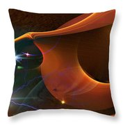 Peanut Gone Nuts Throw Pillow