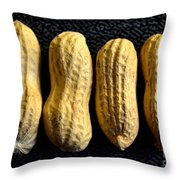 Peanuts For 4 Throw Pillow