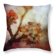 Pear Blossom Sunset 8930 Idp_2 Throw Pillow