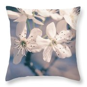 Pear Blossoms 4 Throw Pillow