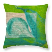 Pear Gem 1 Throw Pillow