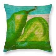 Pear Gem 2 Throw Pillow