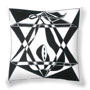 Pear Square Throw Pillow
