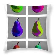 Pear X 6 Throw Pillow