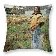 Pearce C S Sainte Genevieve Throw Pillow
