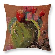Peared Up Throw Pillow
