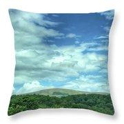 Pearisburg Virginia View Throw Pillow