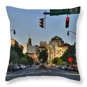 Pearl And Main Street Throw Pillow