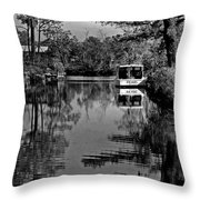Pearl Bw Throw Pillow